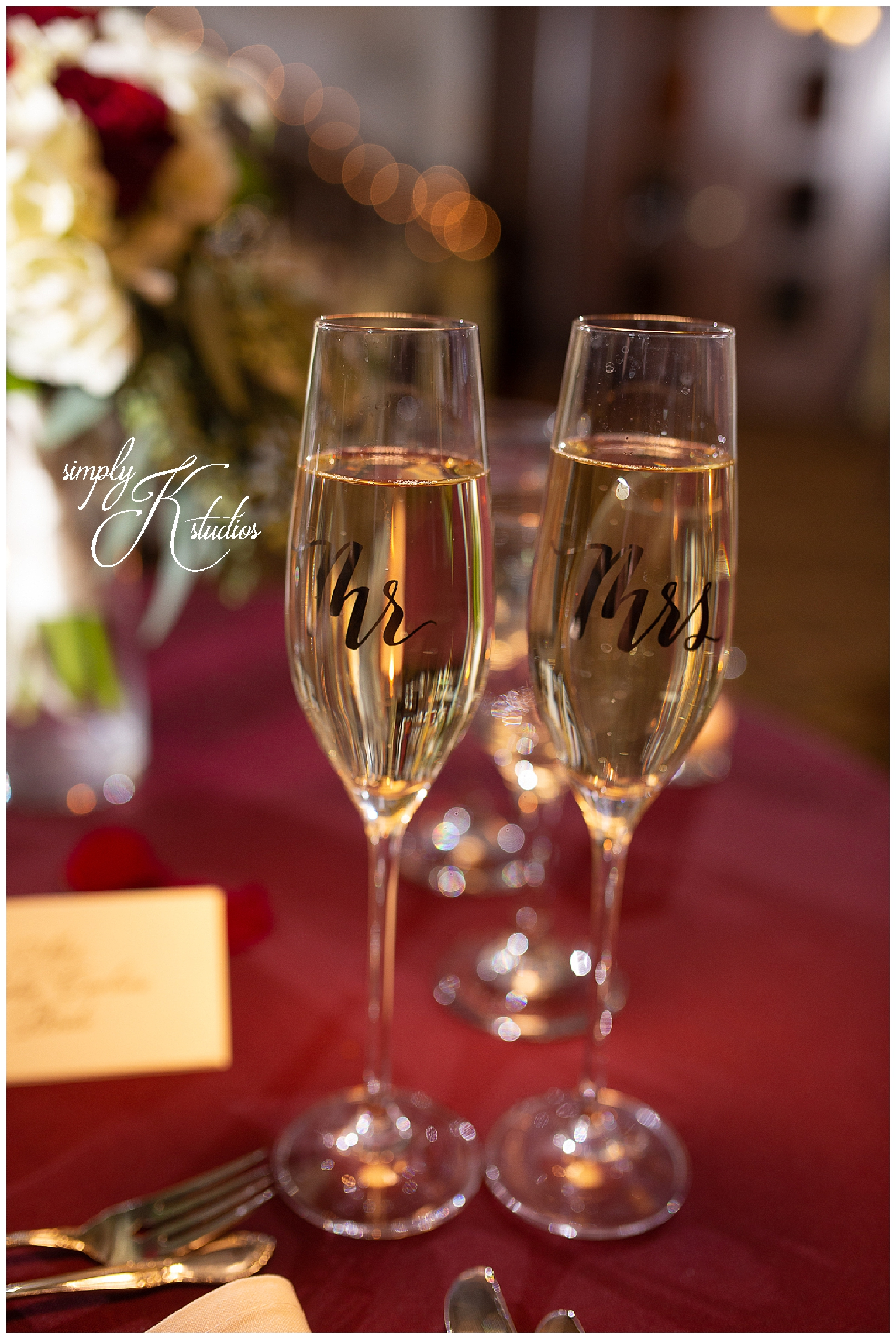 78 Customized champagne glasses at a Wedding.jpg