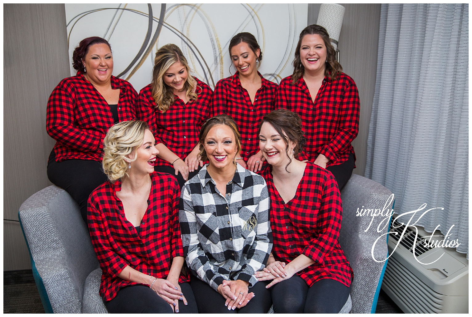 5 Bridesmaid flannels.jpg