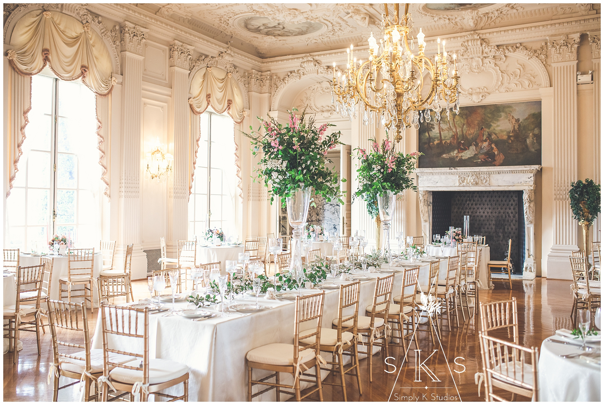 Rosecliff Mansion Weddings