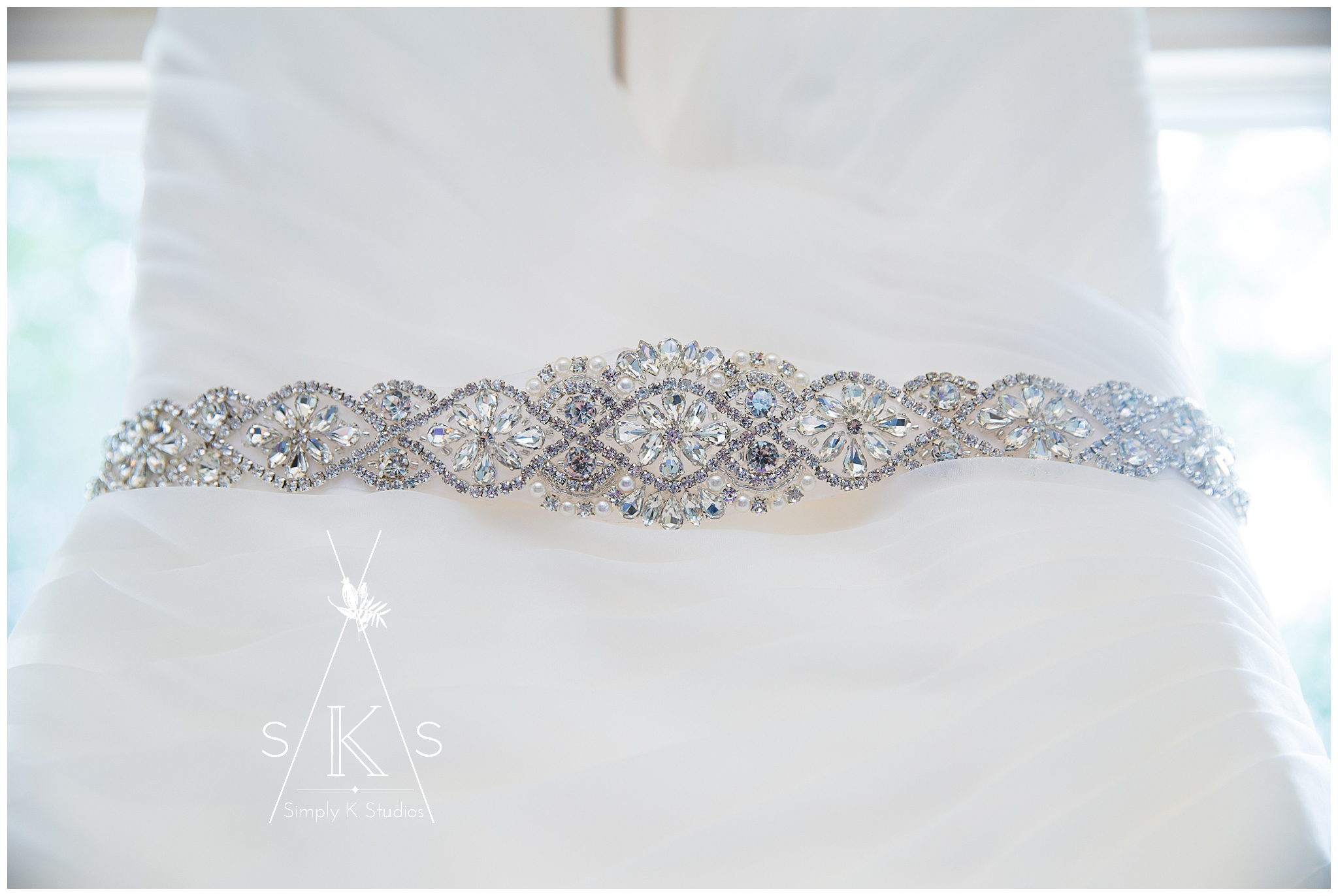 Sparkly Belt for a Wedding Dress
