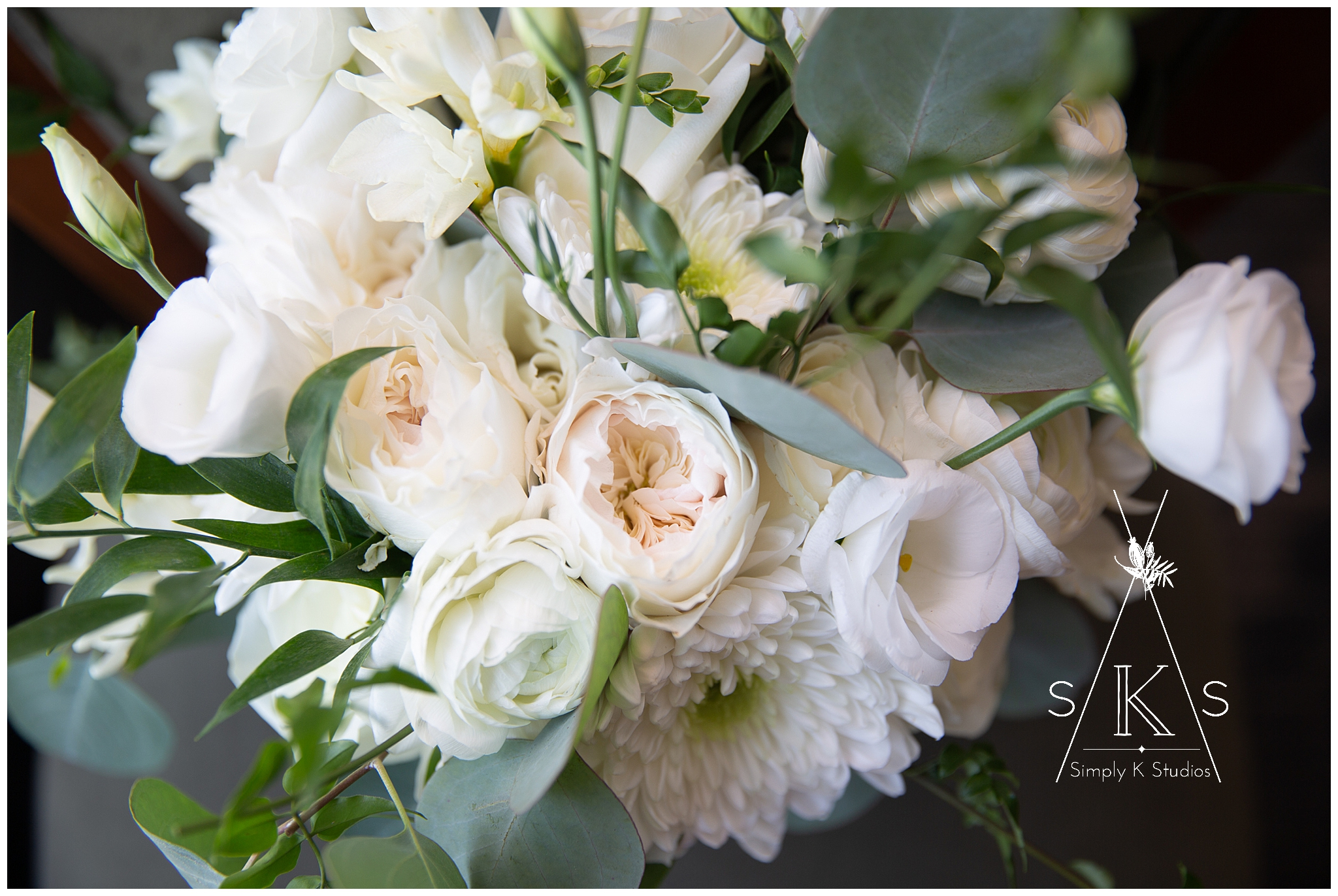 Wedding Day Bouquet Pastel Flowers Light & Airy