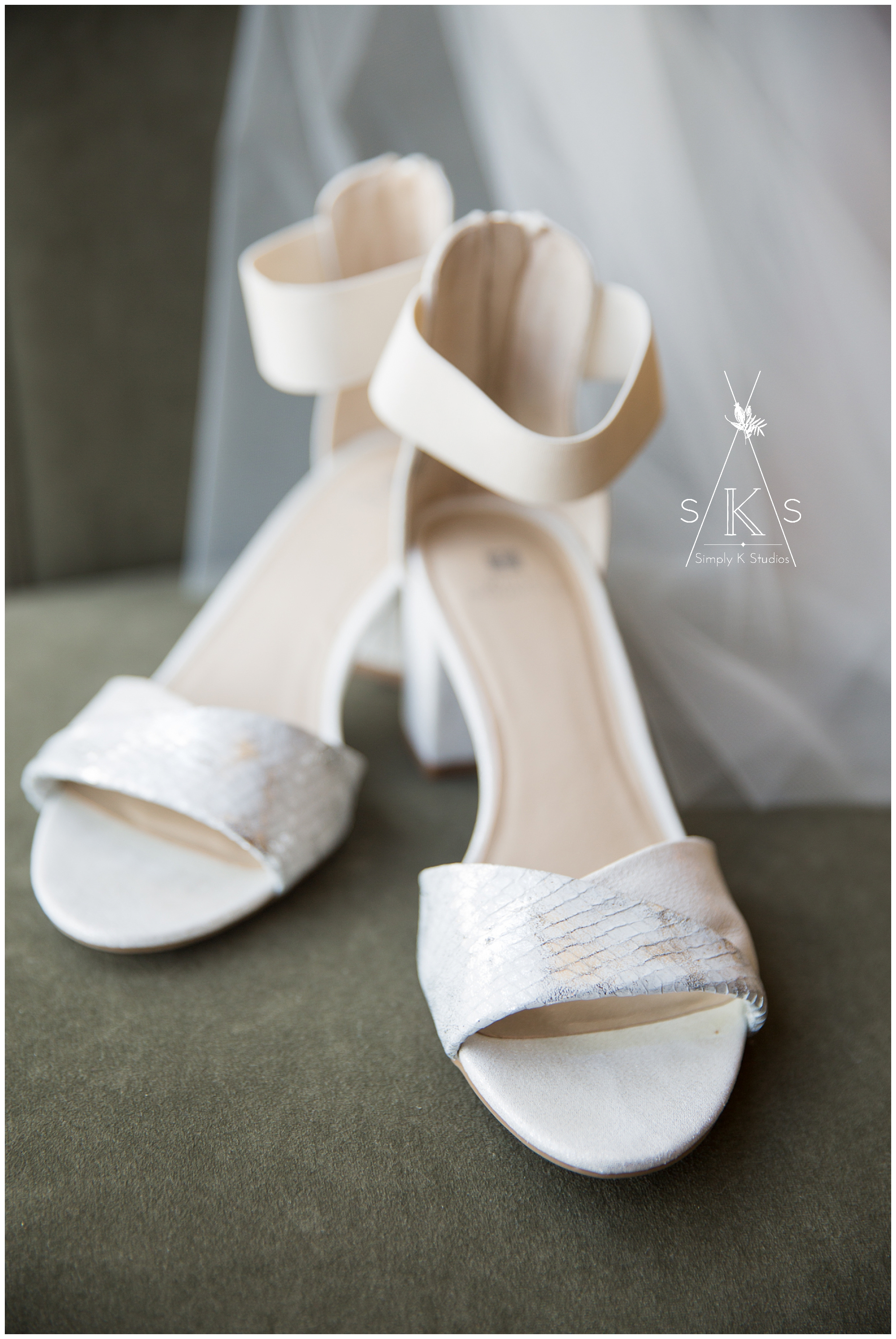 White Sandals for a Summer Wedding