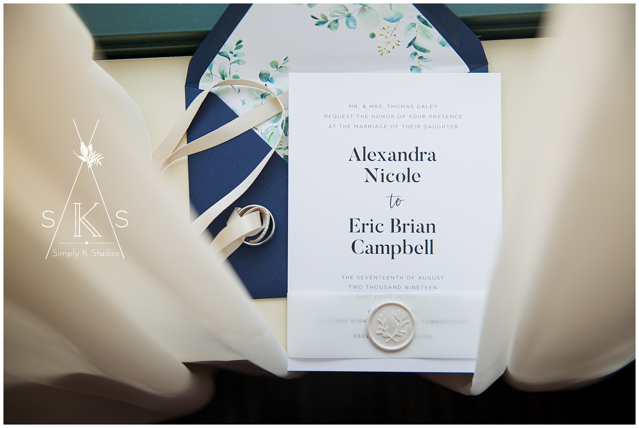 Custom Wedding Invitations by Alex Daley