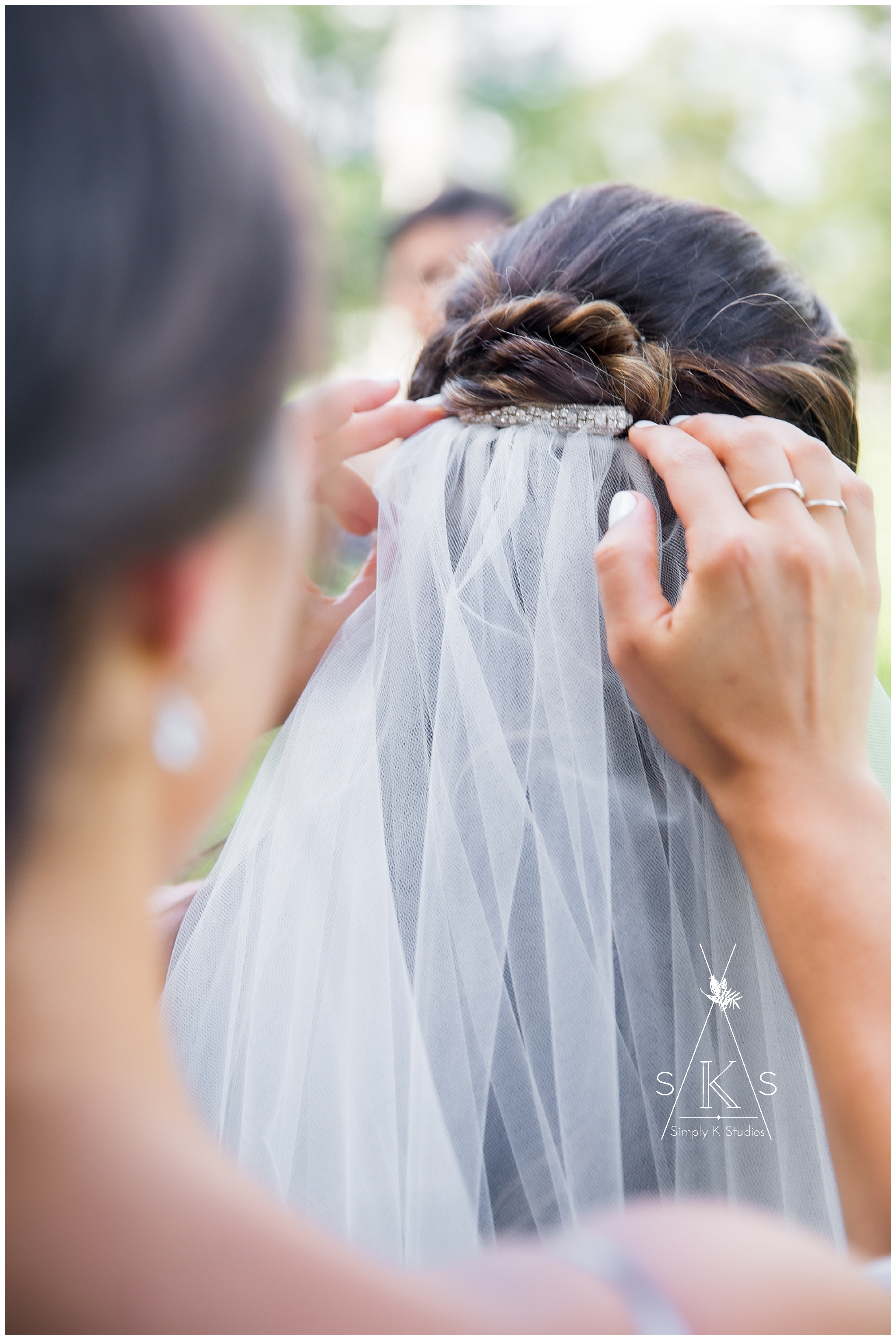Veil for a wedding day