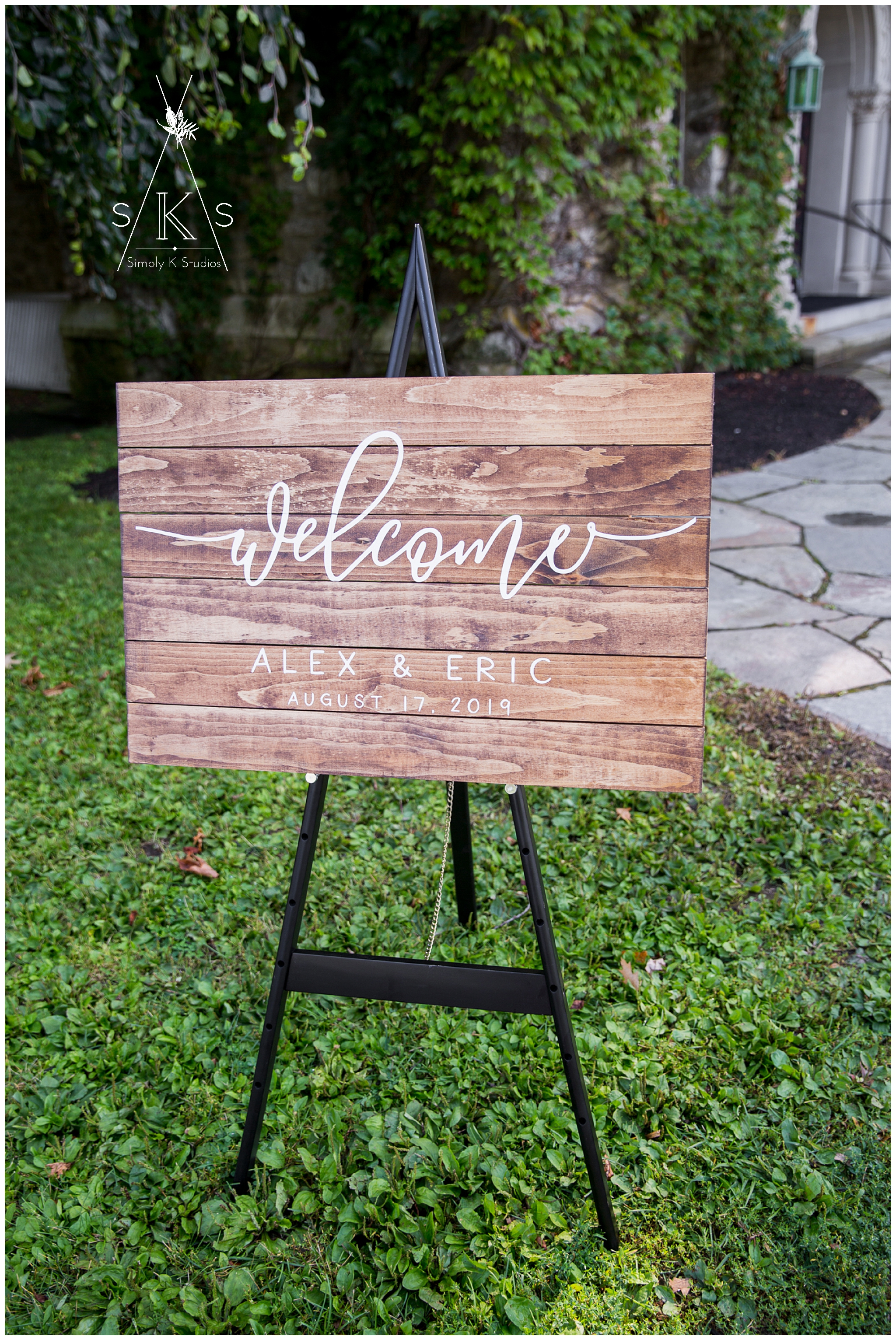 72 Connecticut Custom Wedding Sign.jpg
