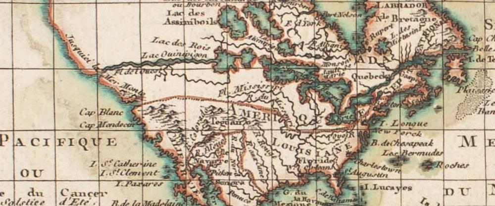 1777 De Pretot -Carte de l'Ancien et du Nouveau Monde...