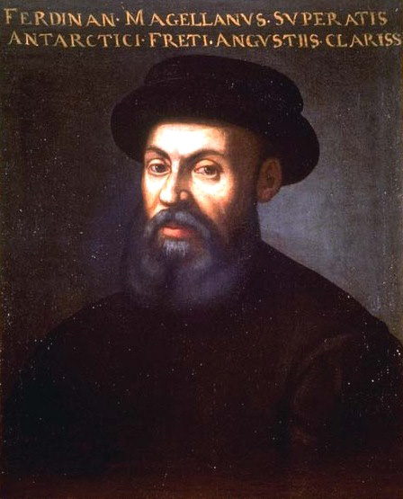 Anonymous portrait of Ferdinand Magellan.