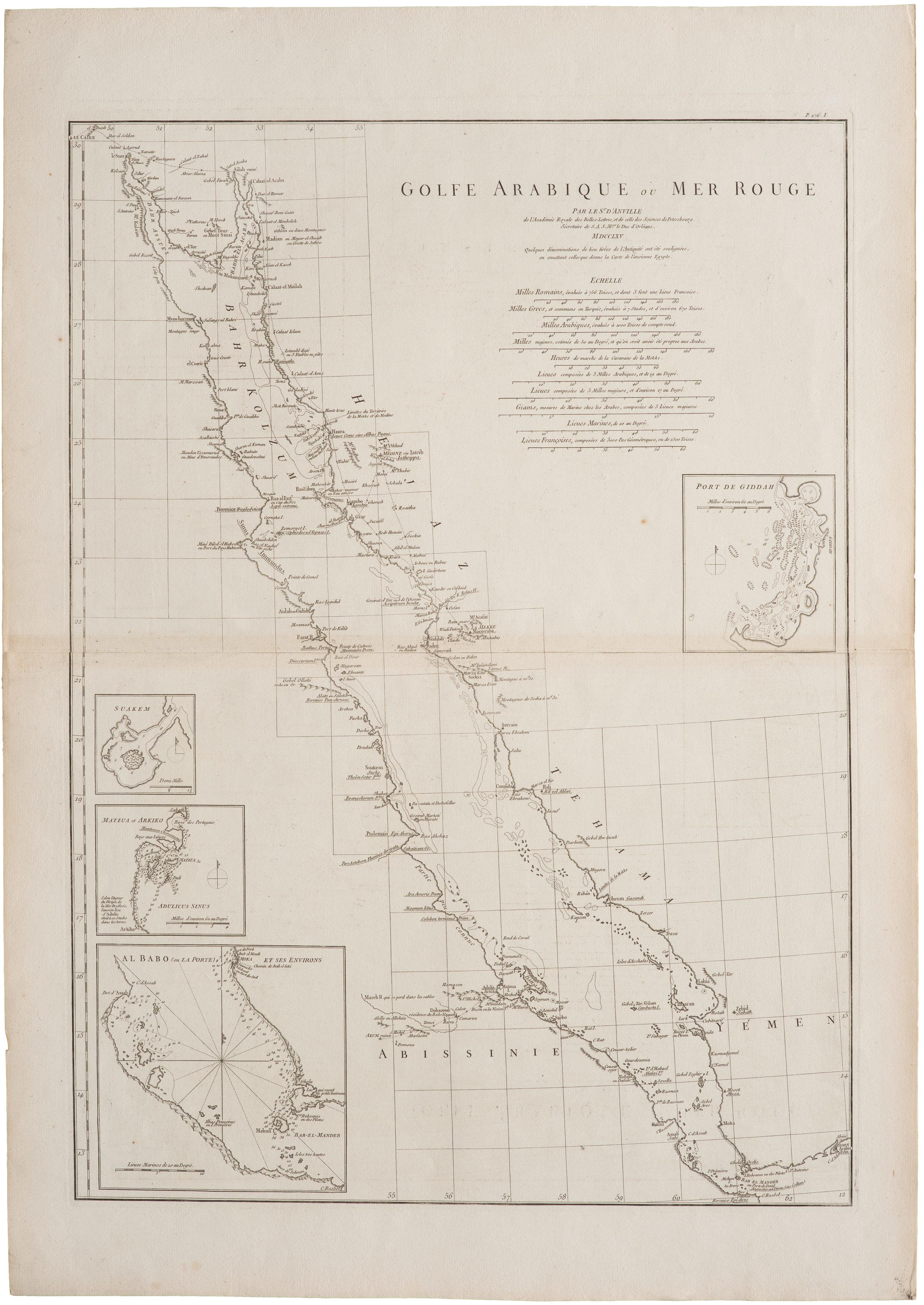 1765 - D'Anville