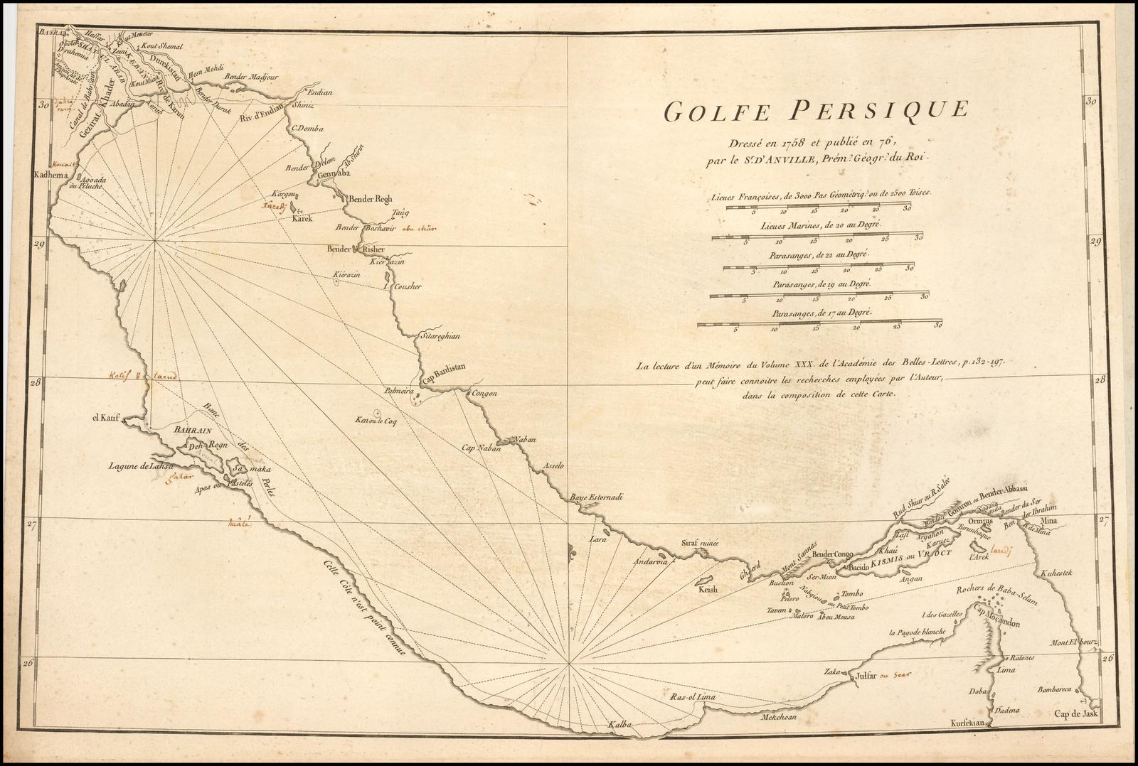 1776 - D'Anville