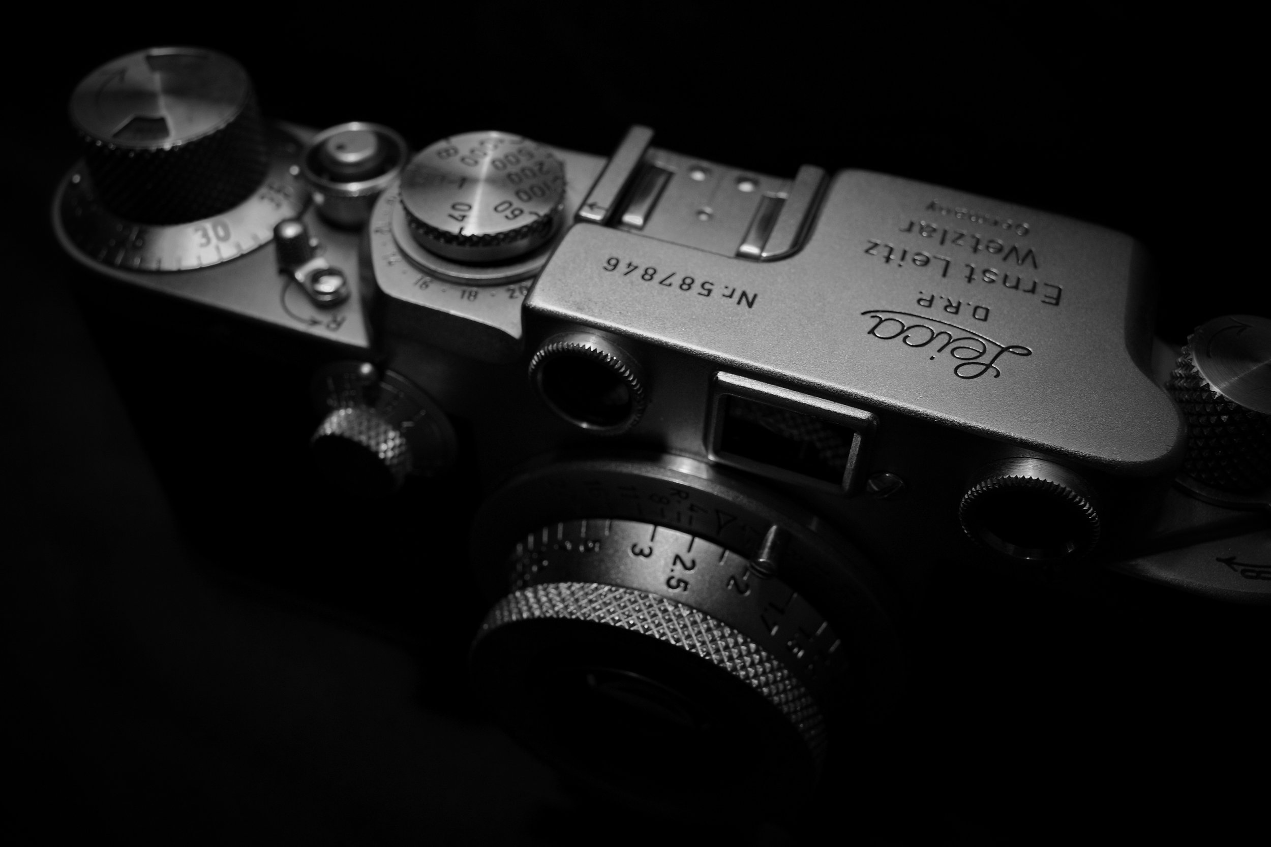 For the future, Leica IIIf with Leitz Elmar 5cm f3.5