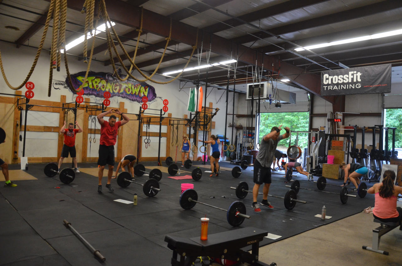 Saturday's 9am class starting their 'However Possible'