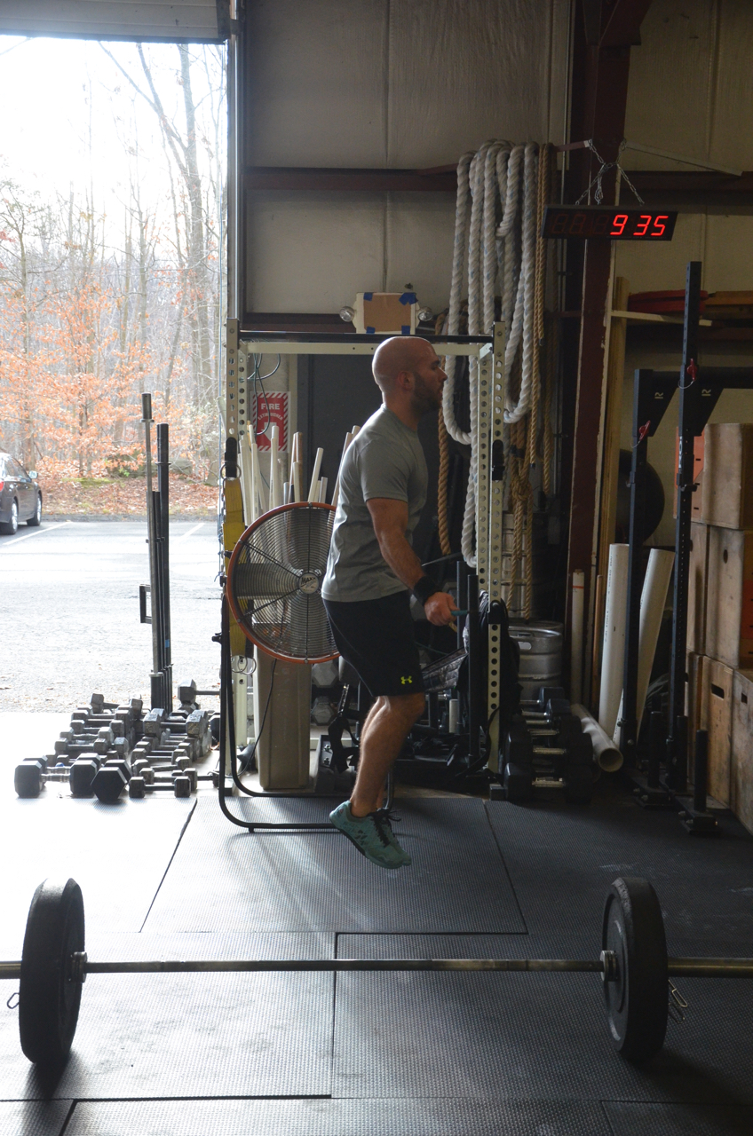Timmy making easy work of his double unders.