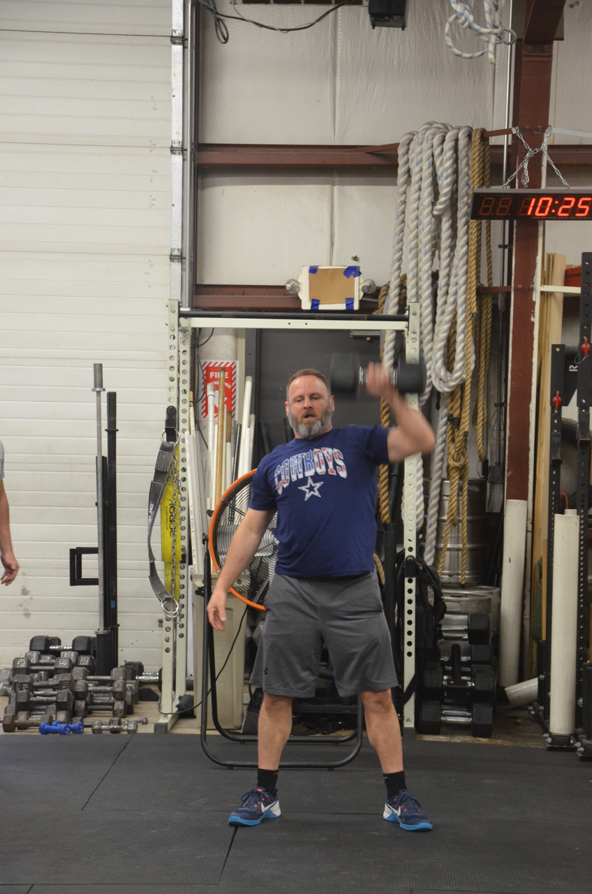 It's great seeing Matt back in the gym!