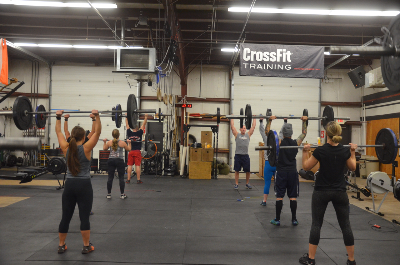 The 9:30 class starting their 3 rounds.