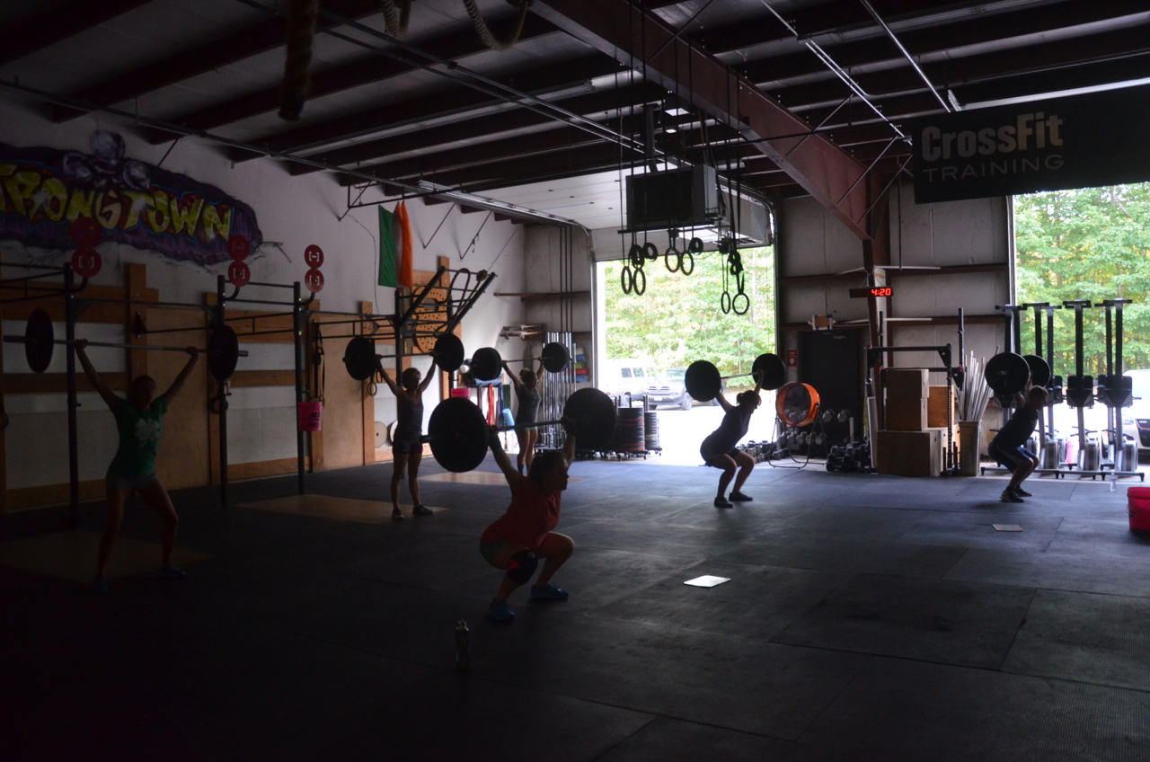 4:00pm class at the start of the metcon.