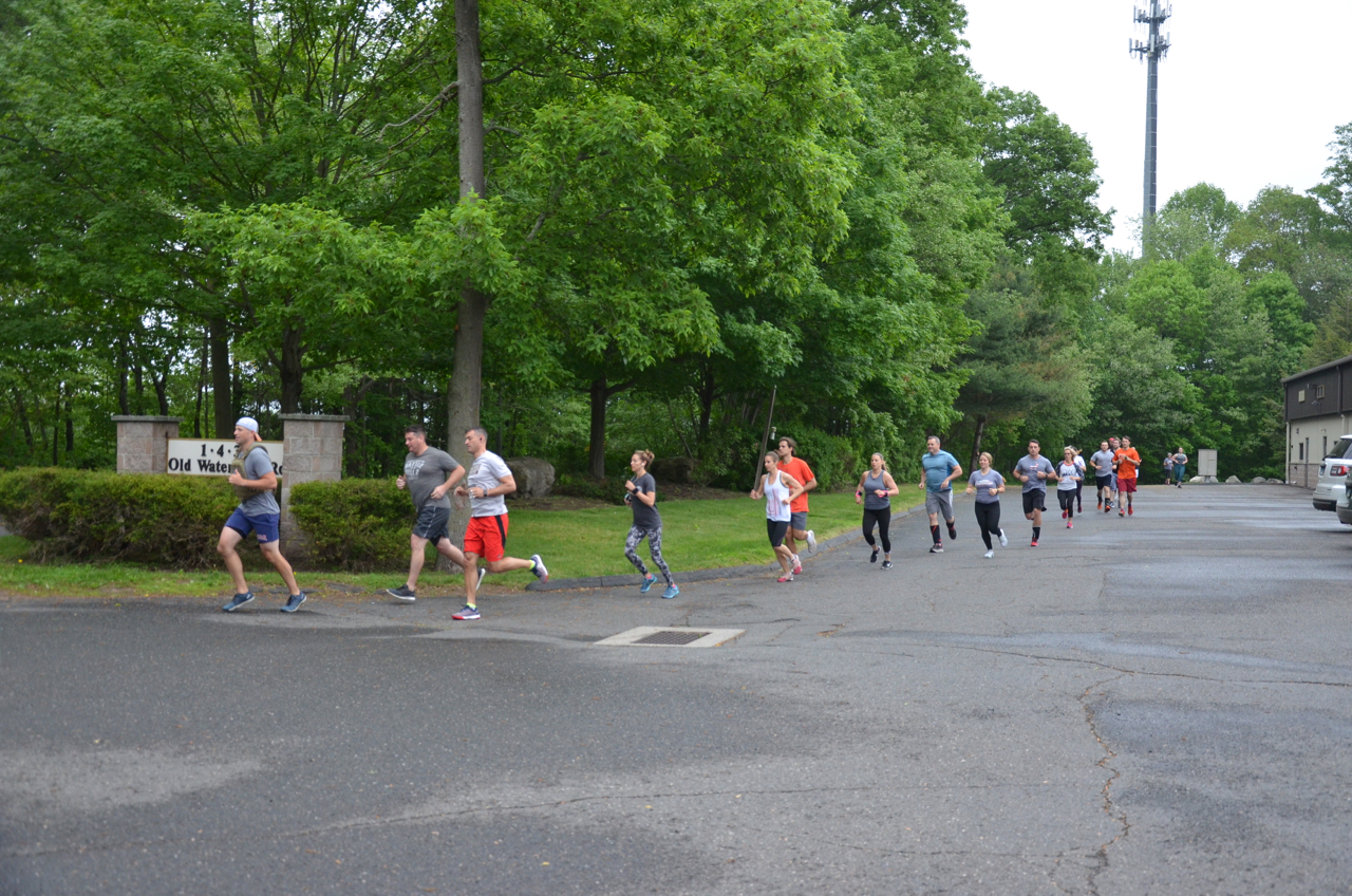 """10am Sunday class on the first mile of """"Murph"""". Sorry 10am, we forgot to get a class photo."""