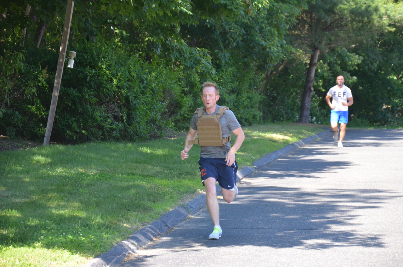Chris - 5:34 time trial...with a vest.