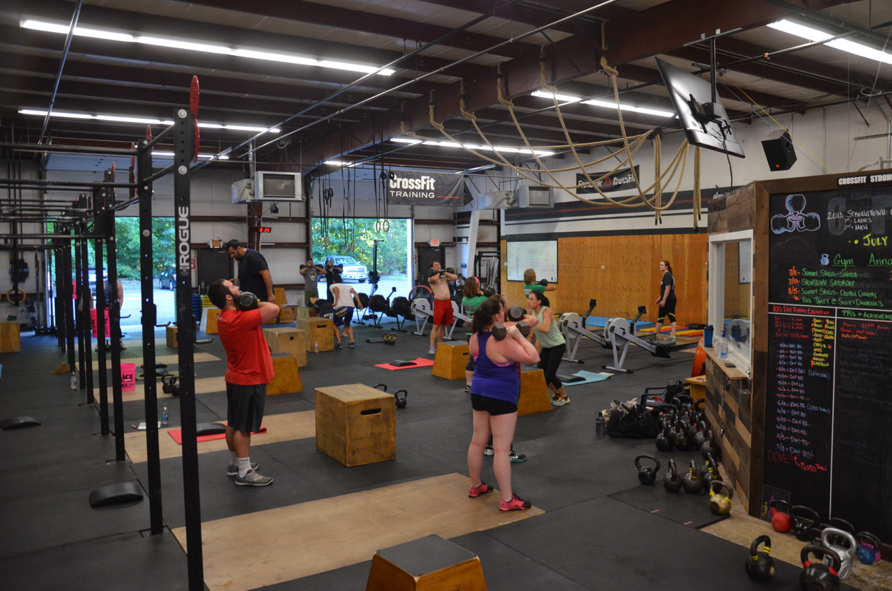 Great turnout for the 6pm class.