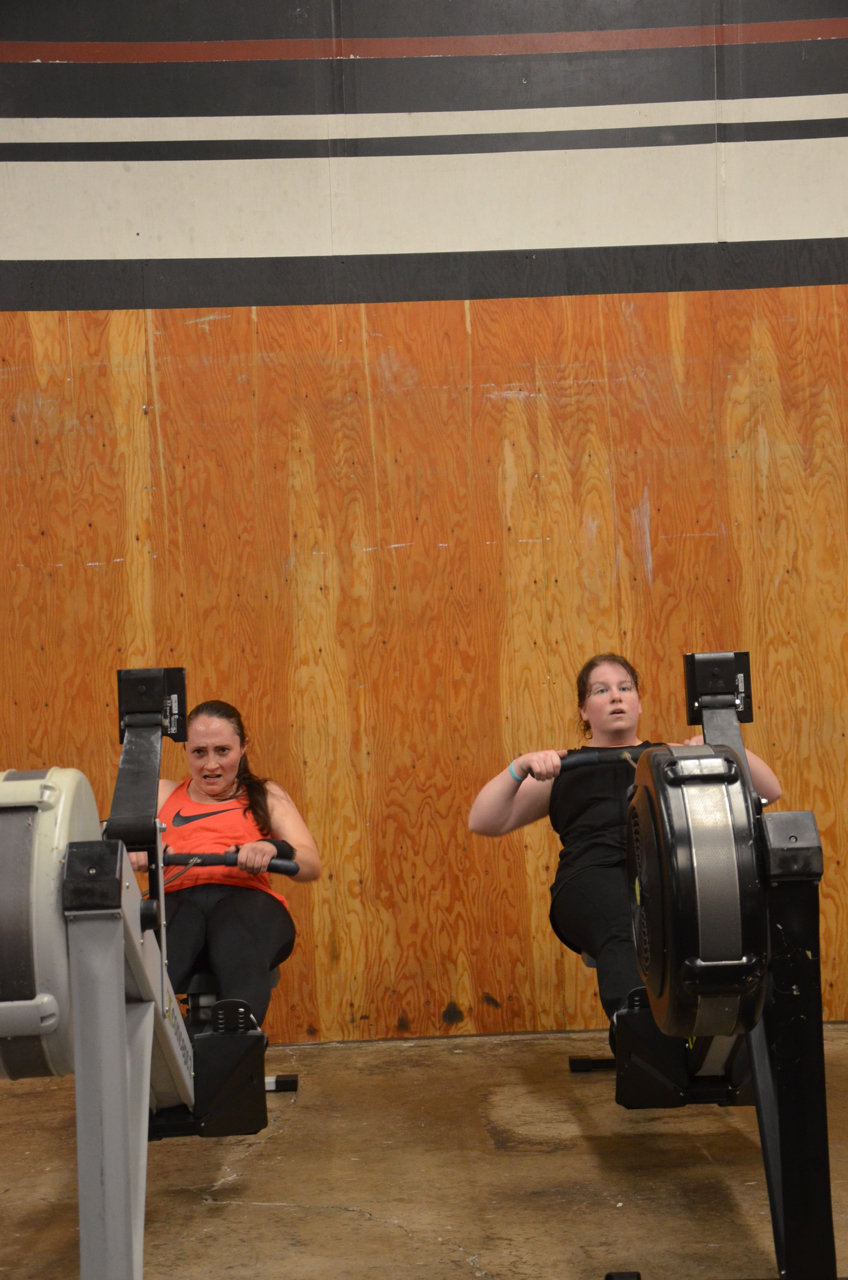 Friends that row together stay together.