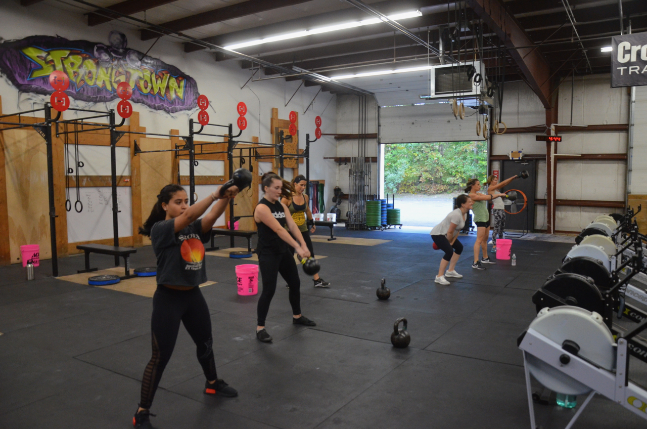The 4pm class was a ladies hour today.
