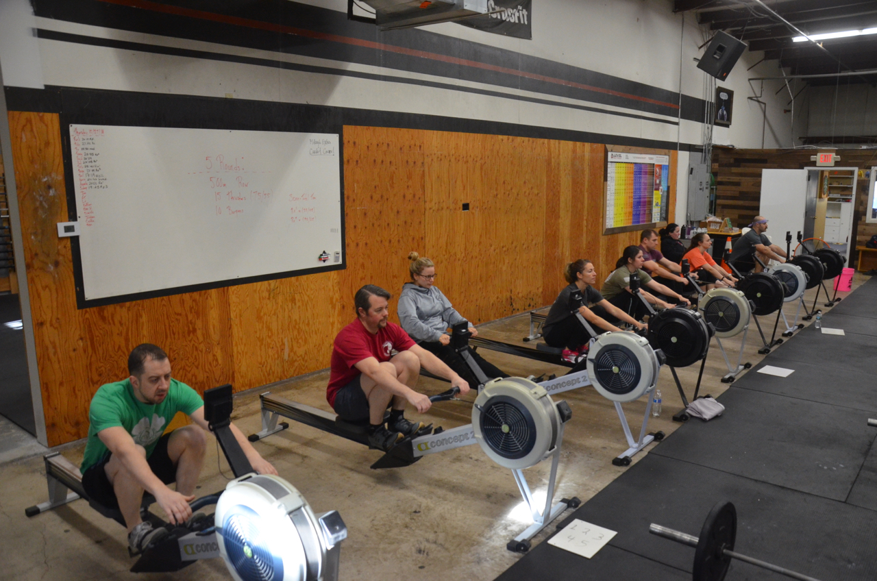 Coach Dan and the 9:30am class.