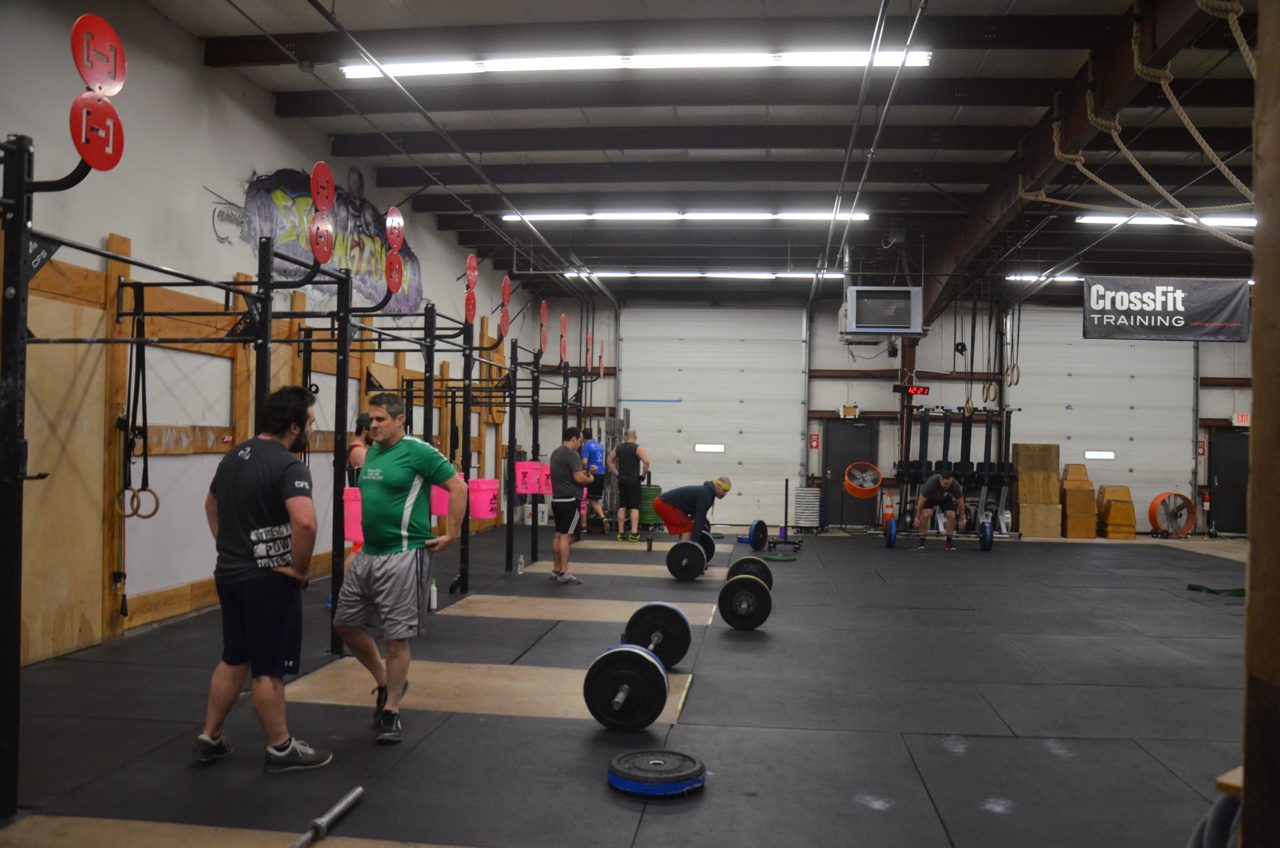 All male class for the noon hour today.