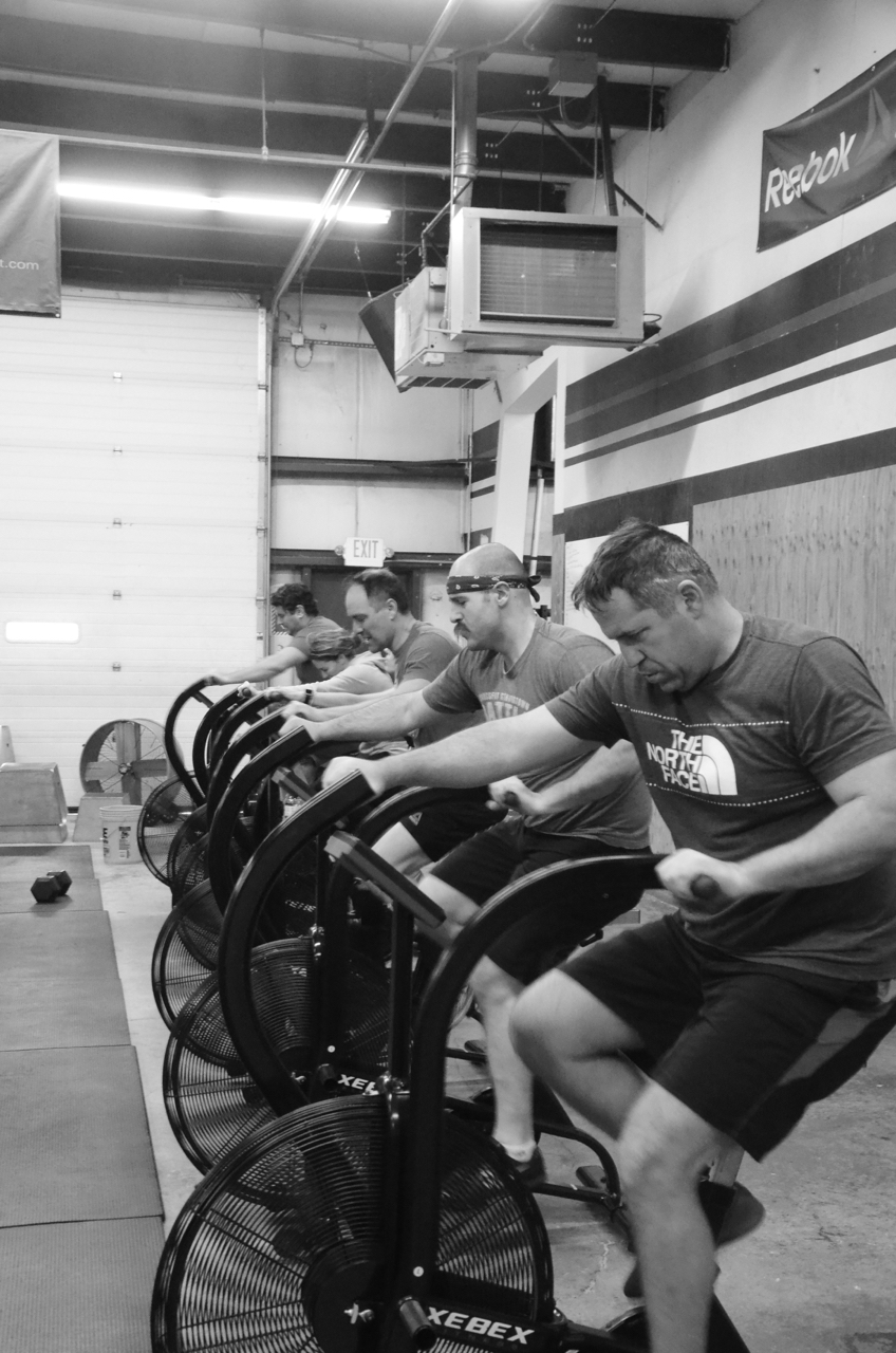 Bob and the Noon class - Round 1 on the bikes.