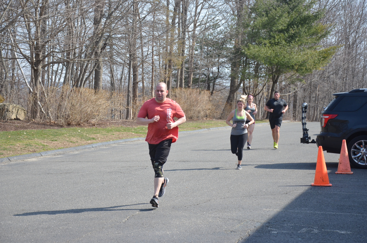 Saturday was a great day for running.