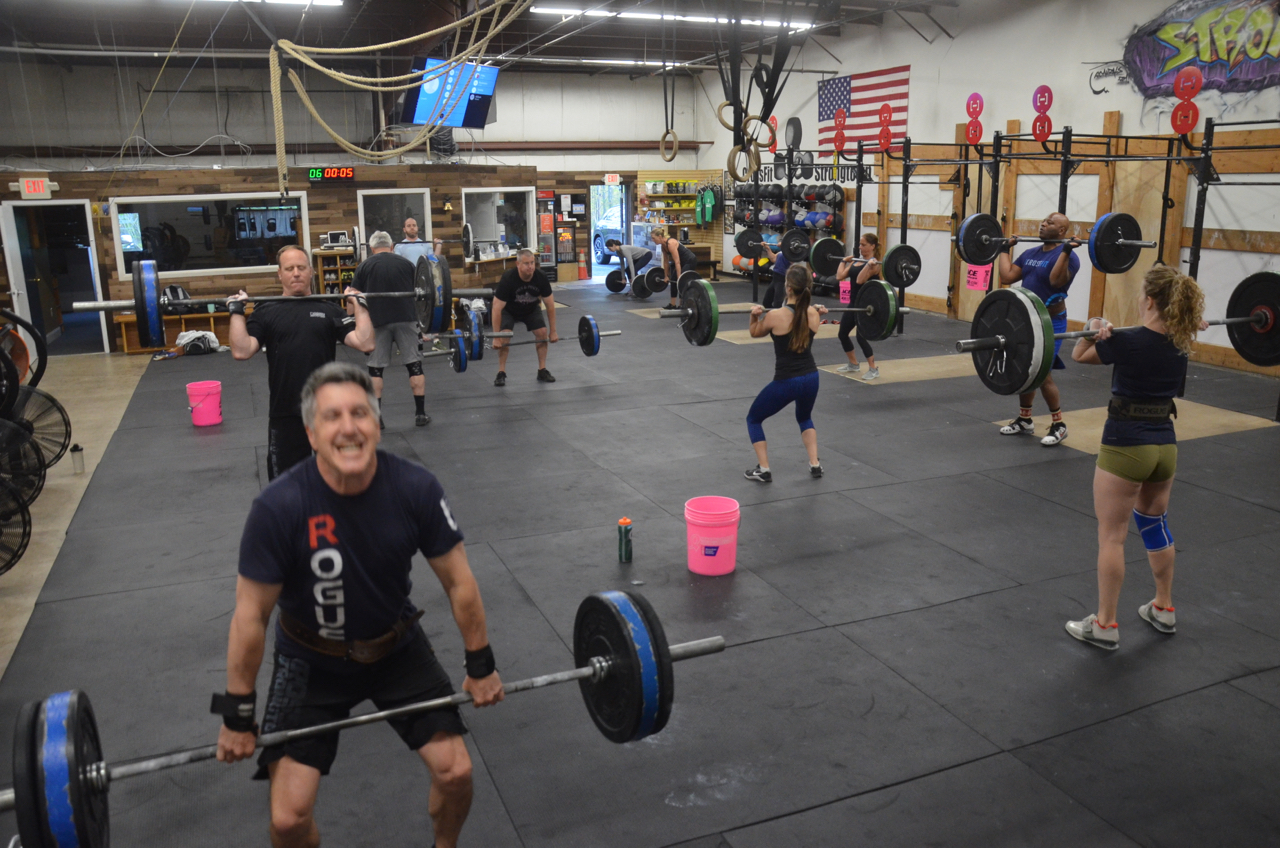 Packed house for the 6am class.