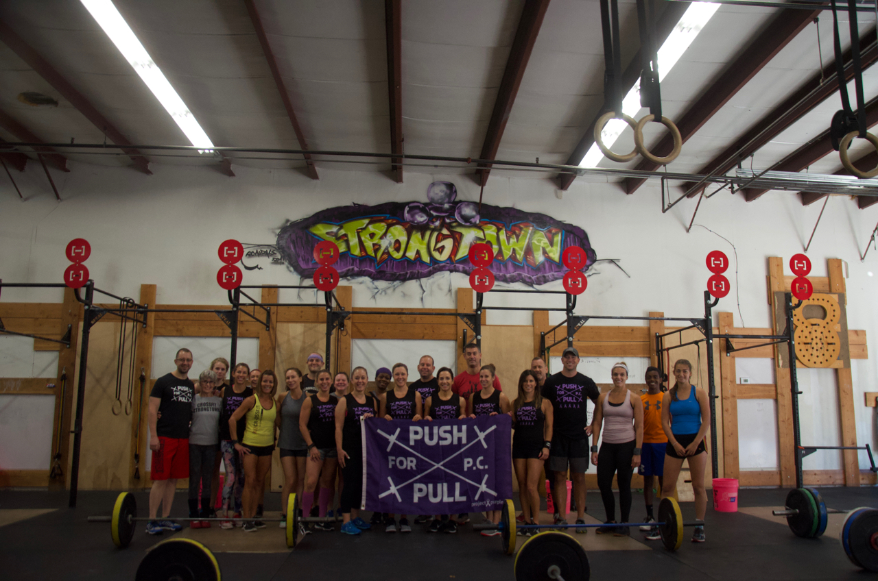 Saturday's 9:00am - Project Purple: Push & Pull for P.C.