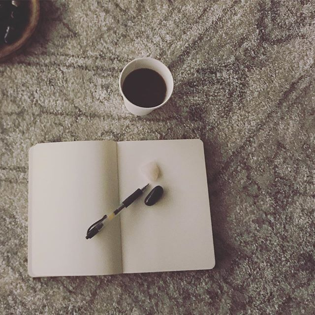 "✨Some days journaling is harder than others — just like any self-care practice. But even if no words come and all I do is stare at the blank page, I remind myself that it's given me a couple of moments of mindfulness. A simple reframe from a negative self-critical voice (""you didn't do it right, you just wasted time, etc"") to one of #compassion and #gratitude ✨"