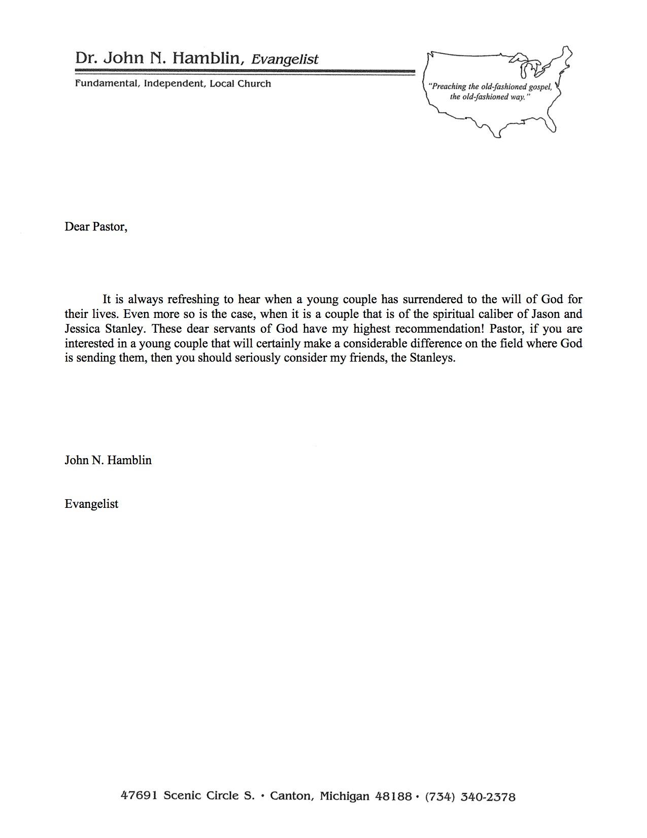 Dr. Hamblin's Recommendation Letter.jpg