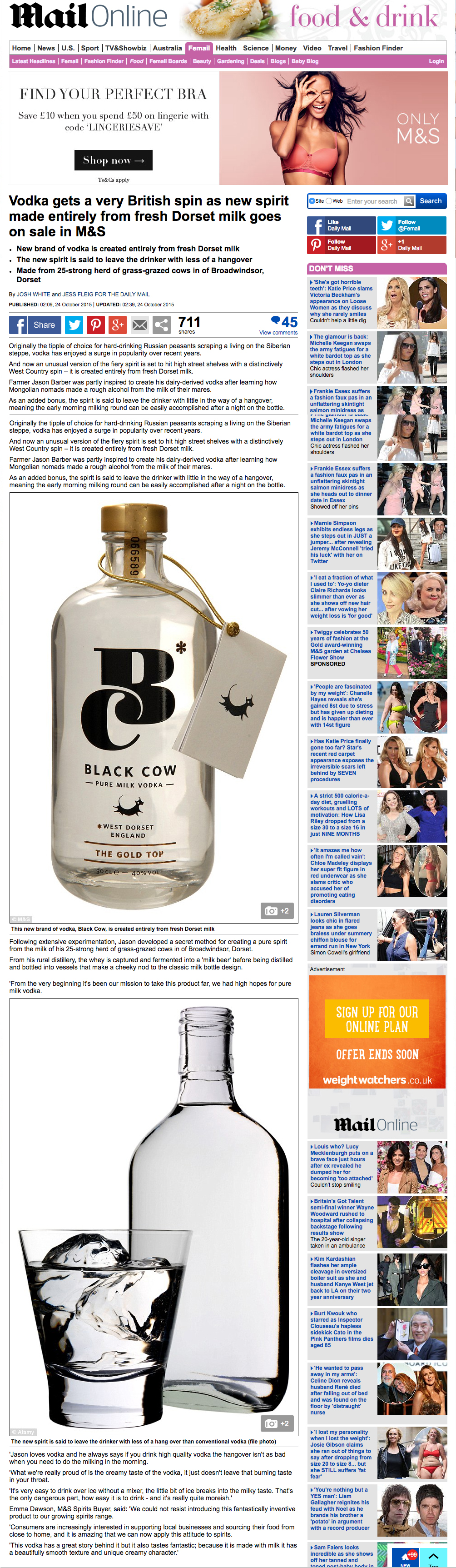 http://www.dailymail.co.uk/femail/food/article-3287187/Vodka-gets-British-spin-new-spirit-entirely-fresh-Dorset-milk-goes-sale-M-S.html