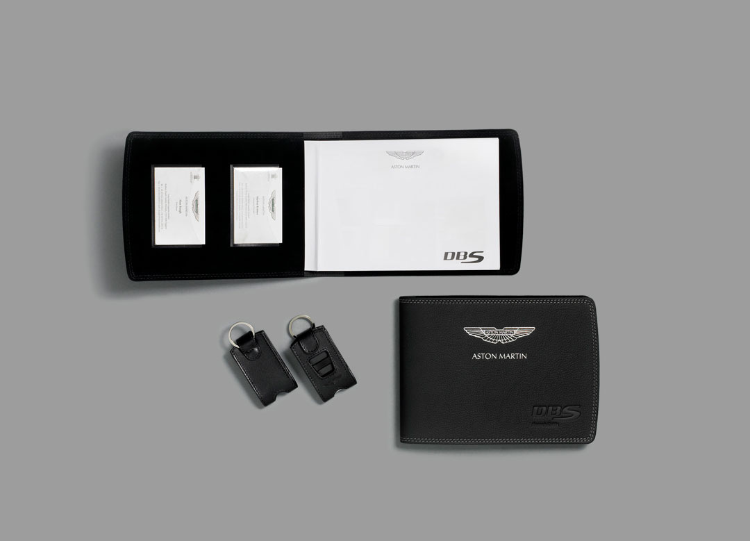 Aston Martin Business Card Holder