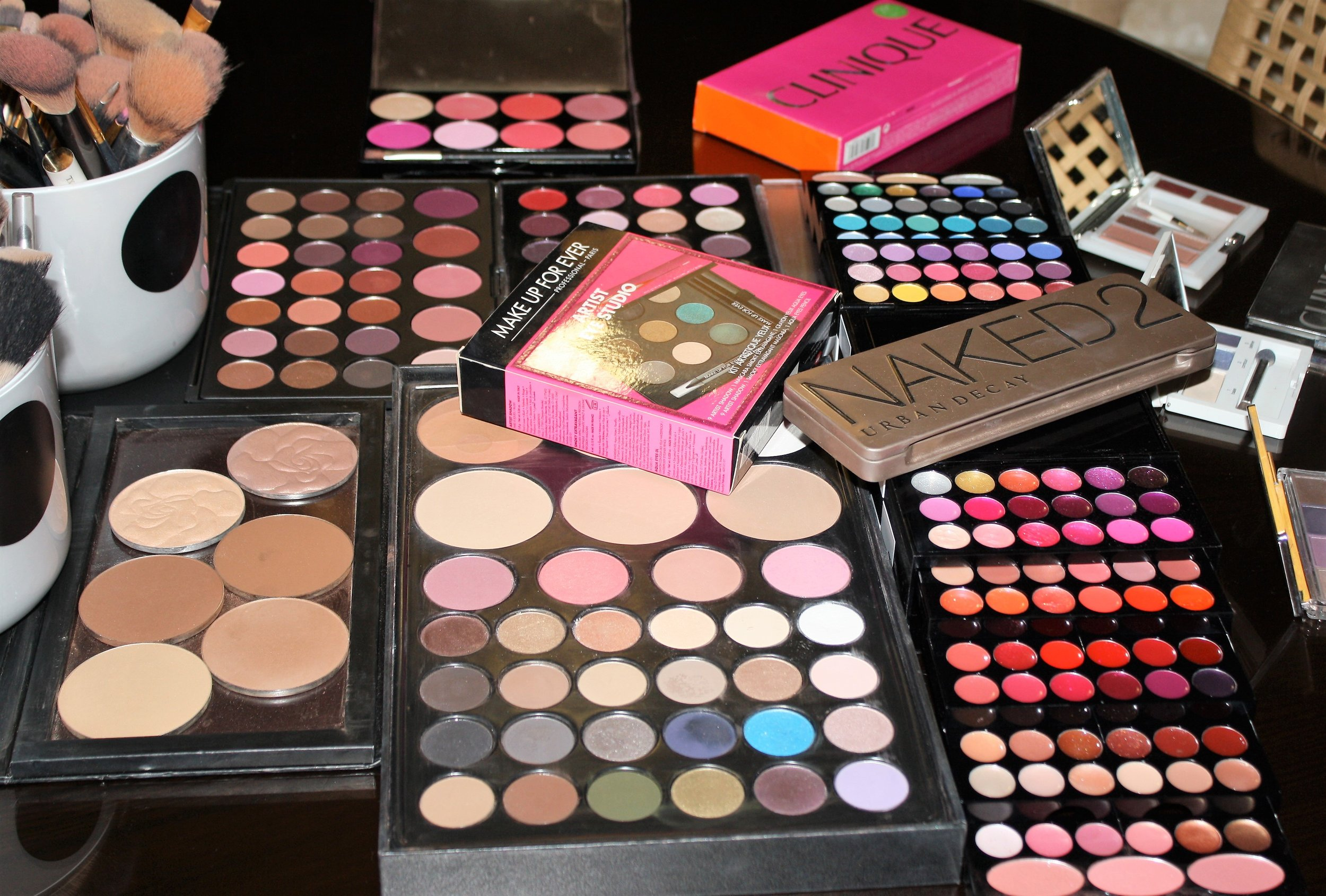 My palettes - Eyes, face, lips