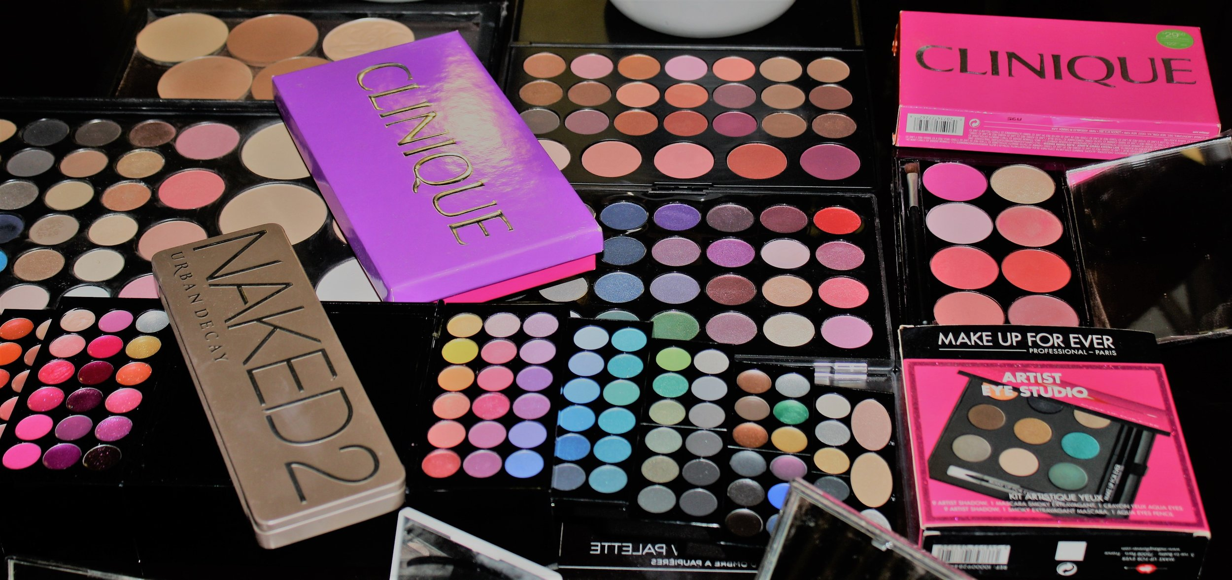 My palettes