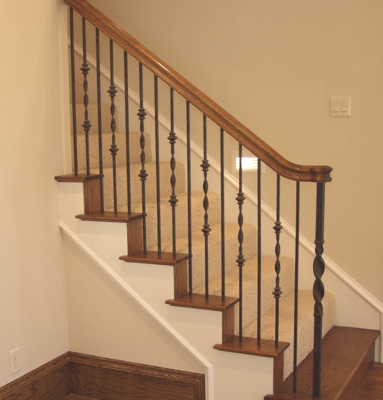 Master Fabrication Wrought Iron Staircase Design Center Residential Stair Design