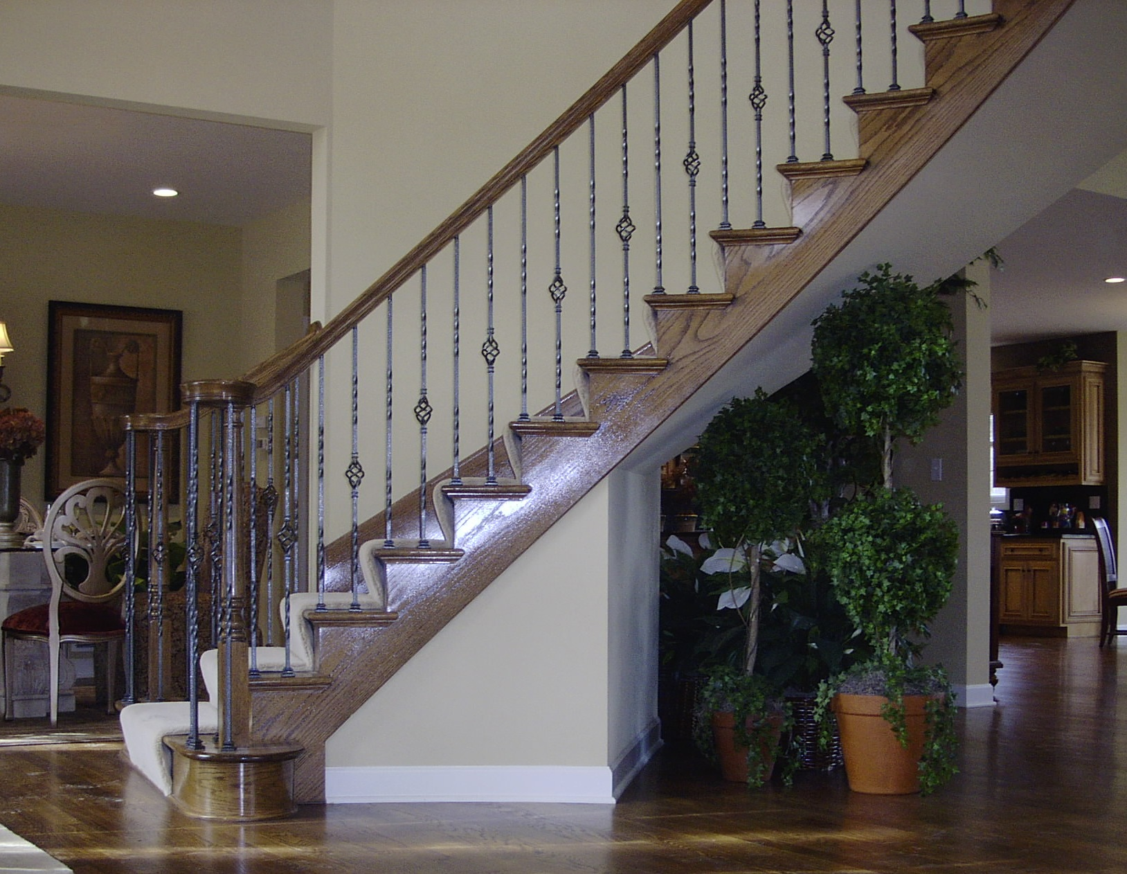 ... Wrought Iron Balusters ...
