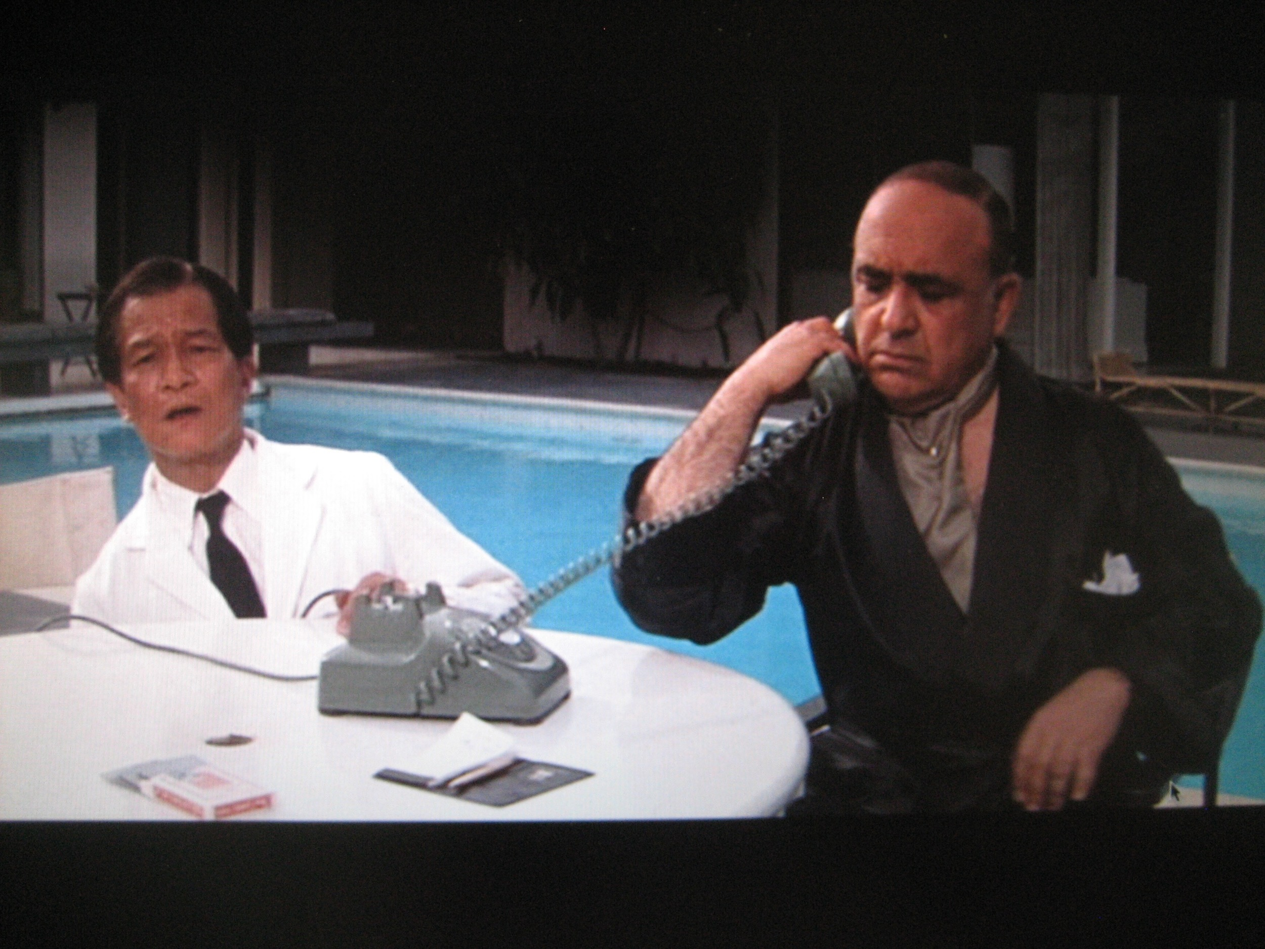 "H.T. Tsiang as ""houseboy"" (uncredited) in  Ocean's 11  (1960)"