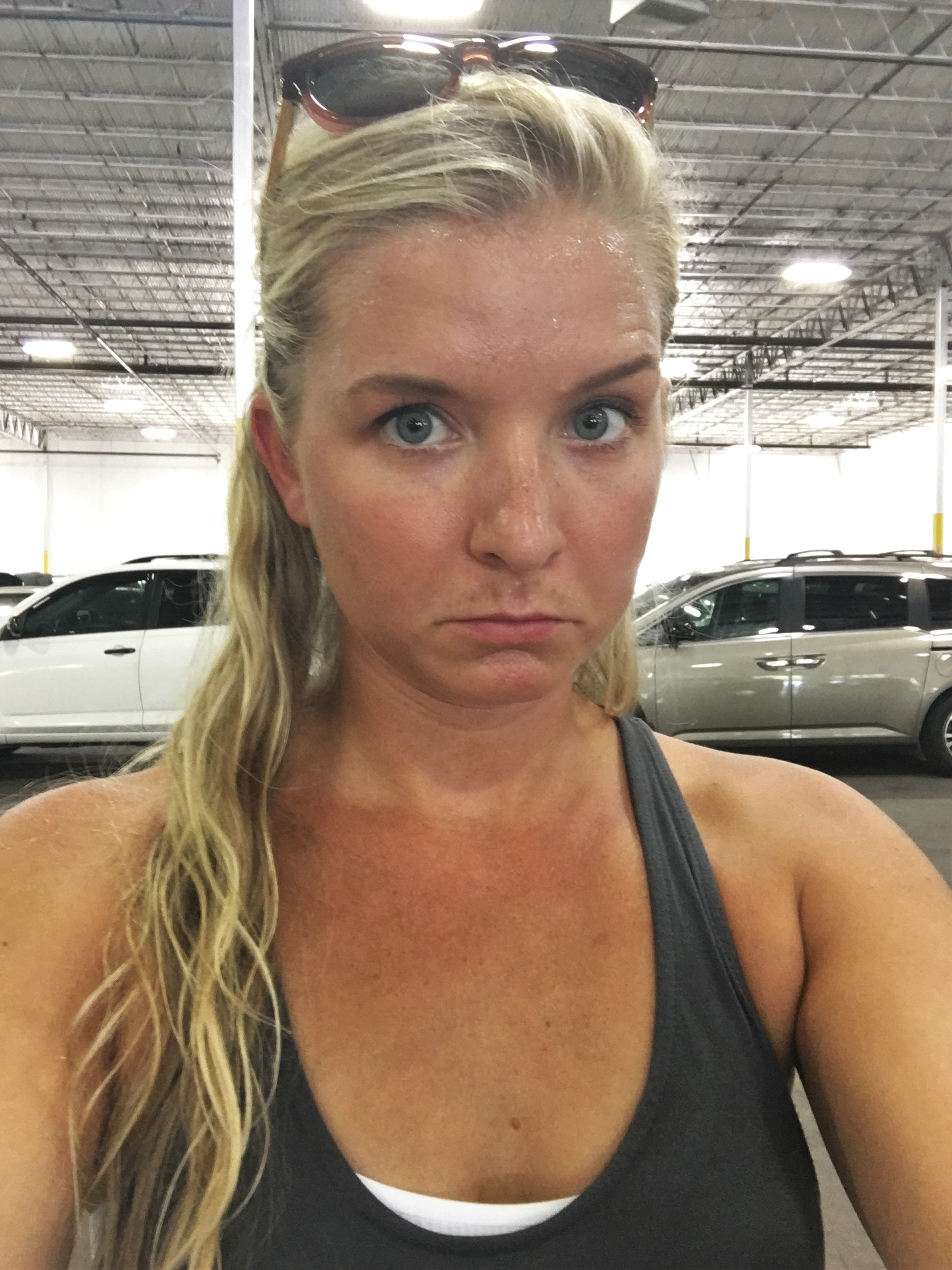 HOT Warehouse... sweating