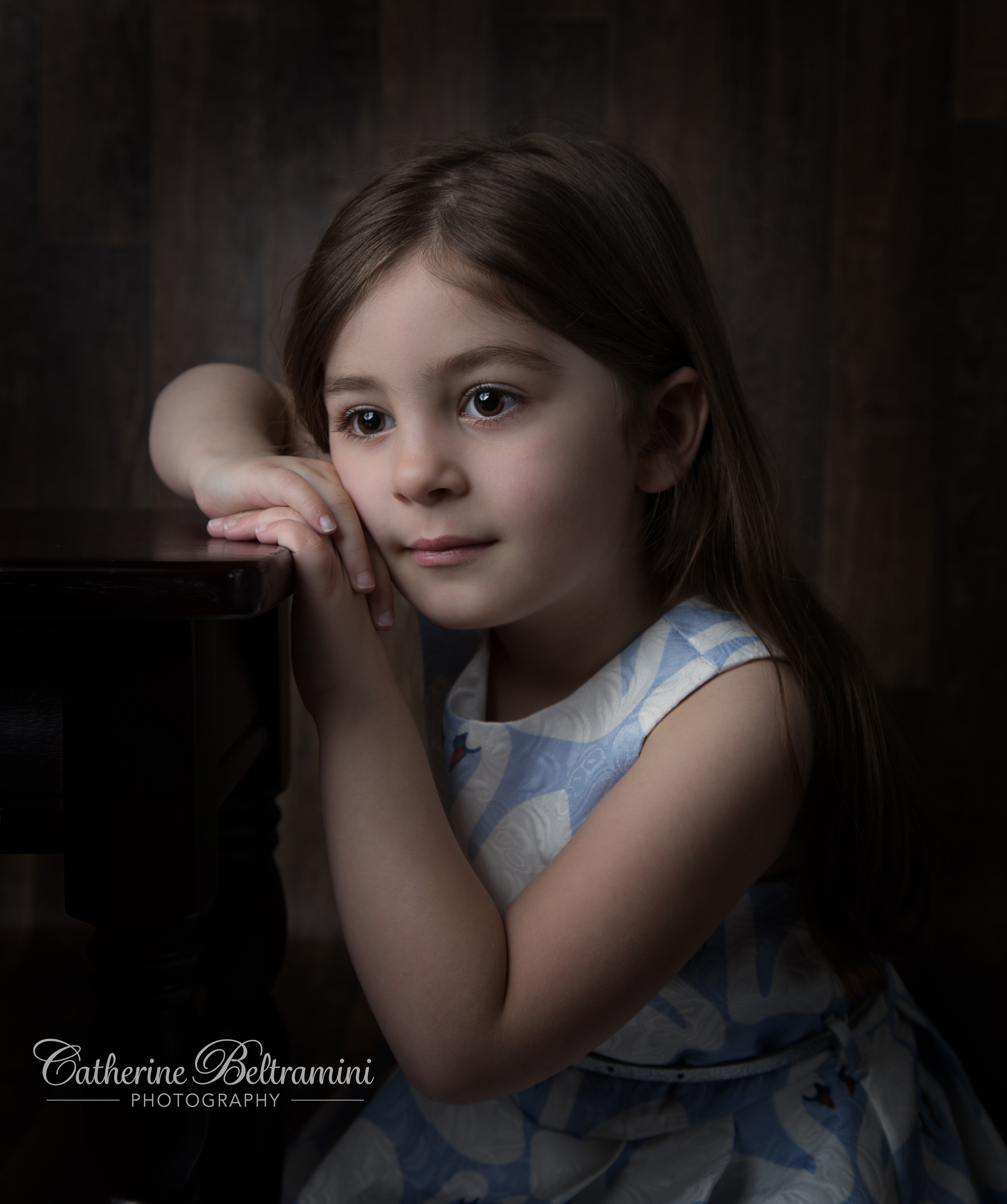I really enjoyed photographing this young girl. She was a natural!