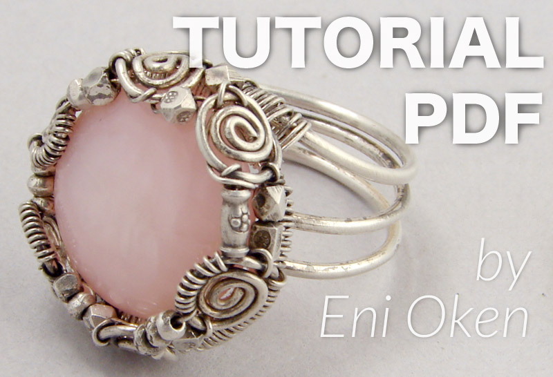 Learn how to make beautiful wire jewelry • enioken.com