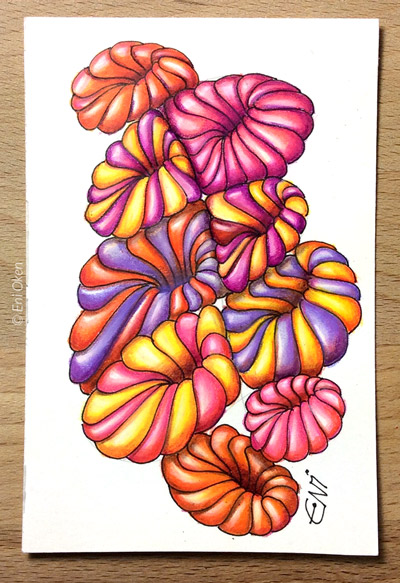 Colorful shading by Eni Oken