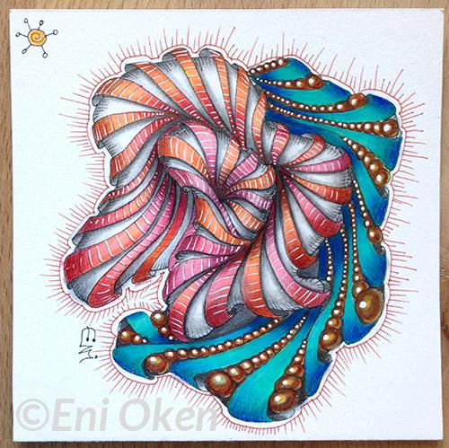 Shading Aquafleur Progression by Eni Oken   enioken.com