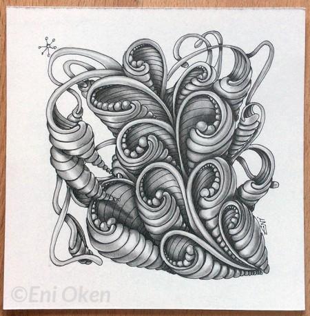 Shading 3DTangle with Eni Oken • enioken.com