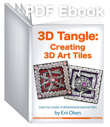 Learn how to create a 3-dimensional art tile • enioken.com