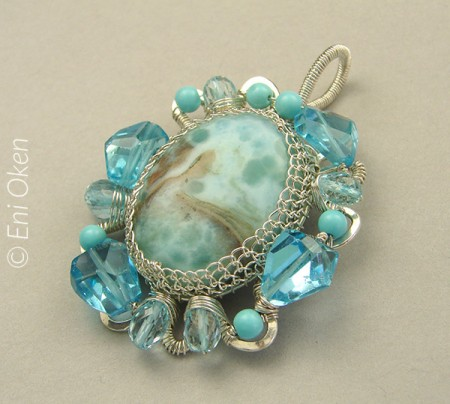 Learn how to create great wire-wrapped jewelry with Eni Oken • enioken.com