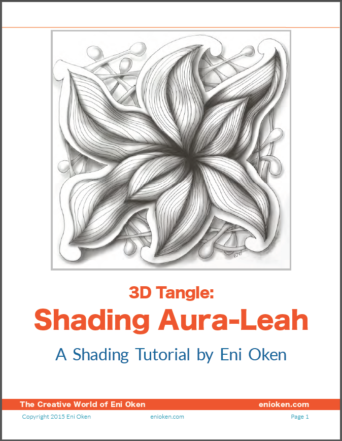 Learn to create great shading on Zentangle® • enioken.com