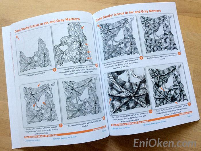 Learn how to shade Zentangle • enioken.com