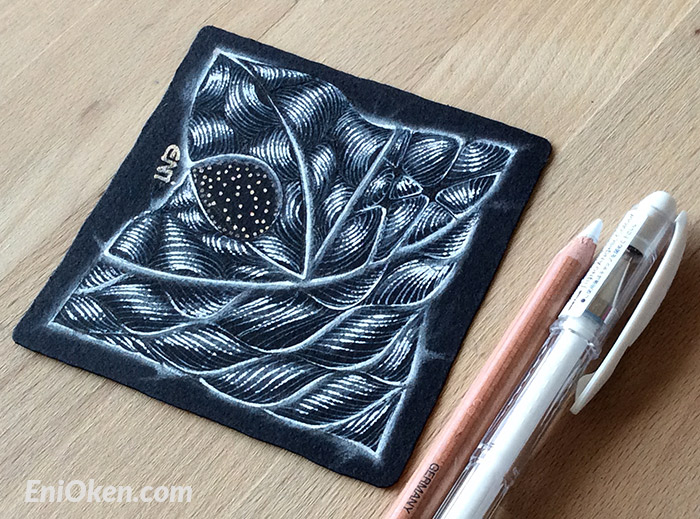 Learn how to create great shading on Zentangle® • enioken.com
